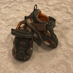 Stride Rite Brown Sandals